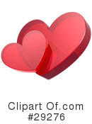 Royalty-Free (RF) Hearts Clipart Illustration #29276