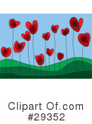 Royalty-Free (RF) hearts Clipart Illustration #29352