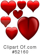 Hearts Clipart #52160 by dero