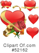 Hearts Clipart #52162 by dero