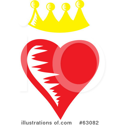 Royalty-Free (RF) Hearts Clipart Illustration by Rosie Piter - Stock Sample #63082