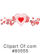 Hearts Clipart #80555 by tdoes