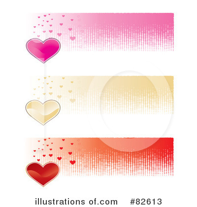Hearts Clipart #82613 by MilsiArt