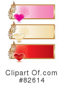 Royalty-Free (RF) Hearts Clipart Illustration #82614