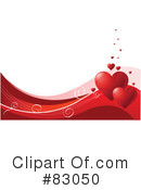 Royalty-Free (RF) Hearts Clipart Illustration #83050