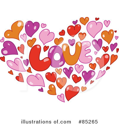 Royalty-Free (RF) Hearts Clipart Illustration by yayayoyo - Stock Sample #85265