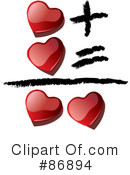 Royalty-Free (RF) hearts Clipart Illustration #86894