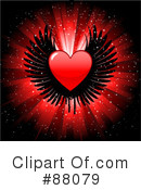Royalty-Free (RF) Hearts Clipart Illustration #88079