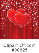 Royalty-Free (RF) hearts Clipart Illustration #90625