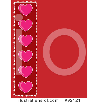 Heart Border Clipart #92121 by Maria Bell