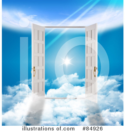 Royalty-Free (RF) Heaven Clipart Illustration by MacX - Stock Sample #84926