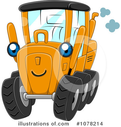 Heavy Machinery Clipart #1078214 by BNP Design Studio