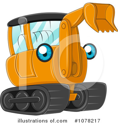 Heavy Machinery Clipart #1078217 by BNP Design Studio
