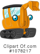 Royalty-Free (RF) heavy machinery Clipart Illustration #1078217