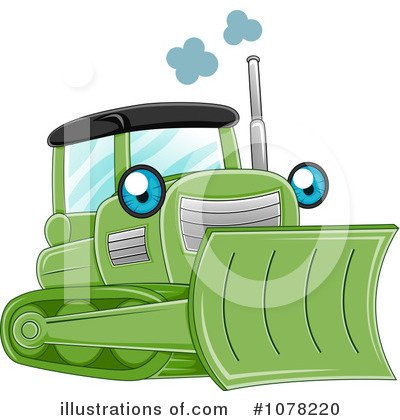 Heavy Machinery Clipart #1078220 by BNP Design Studio