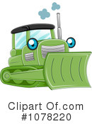 Royalty-Free (RF) Heavy Machinery Clipart Illustration #1078220