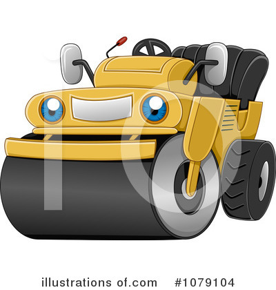 Heavy Machinery Clipart #1079104 by BNP Design Studio