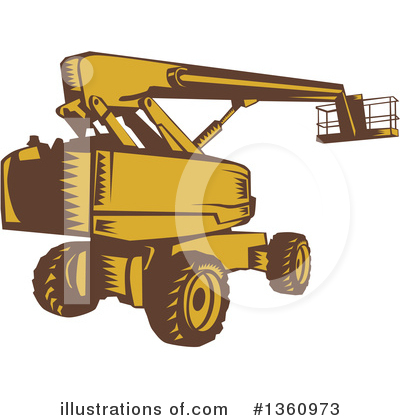 Royalty-Free (RF) Heavy Machinery Clipart Illustration by patrimonio - Stock Sample #1360973