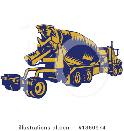 Heavy Machinery Clipart #1360974 by patrimonio