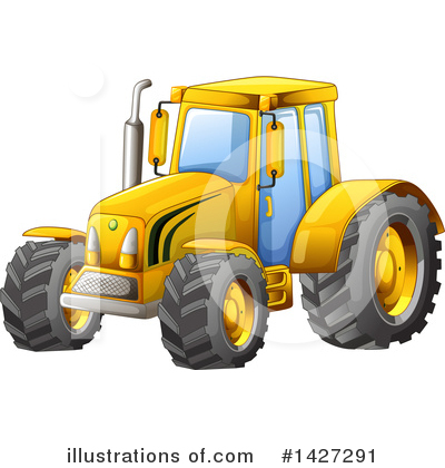 Heavy Machinery Clipart #1427291 by Graphics RF
