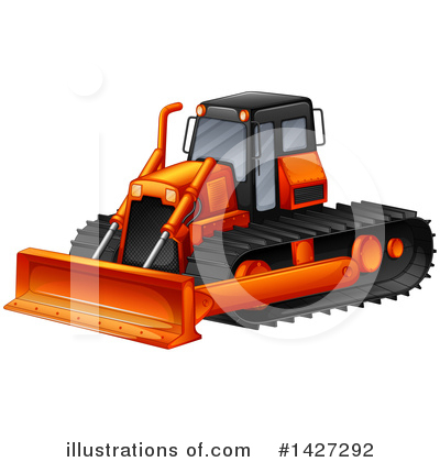 Heavy Machinery Clipart #1427292 by Graphics RF