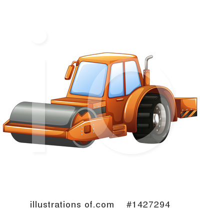 Heavy Machinery Clipart #1427294 by Graphics RF