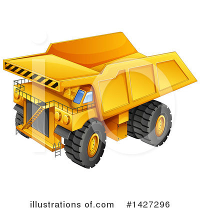 Heavy Machinery Clipart #1427296 by Graphics RF