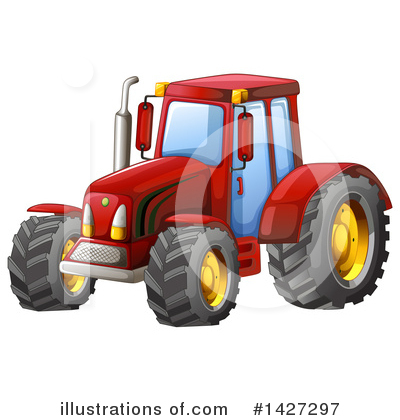 Heavy Machinery Clipart #1427297 by Graphics RF