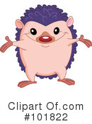 Royalty-Free (RF) hedgehog Clipart Illustration #101822