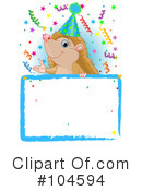 Royalty-Free (RF) hedgehog Clipart Illustration #104594