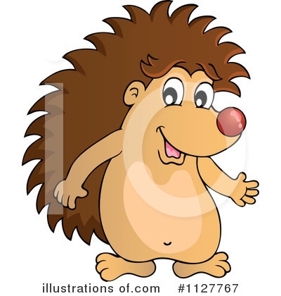 Hedgehog Clipart #1127767 by visekart