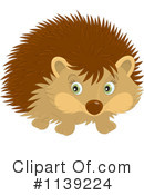 Royalty-Free (RF) Hedgehog Clipart Illustration #1139224