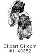 Royalty-Free (RF) hedgehog Clipart Illustration #1149352