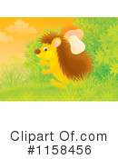 Royalty-Free (RF) hedgehog Clipart Illustration #1158456