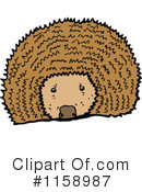 Royalty-Free (RF) hedgehog Clipart Illustration #1158987