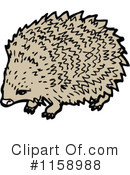 Royalty-Free (RF) hedgehog Clipart Illustration #1158988