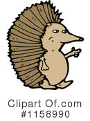 Royalty-Free (RF) hedgehog Clipart Illustration #1158990