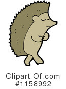 Royalty-Free (RF) hedgehog Clipart Illustration #1158992