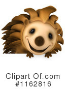 Royalty-Free (RF) hedgehog Clipart Illustration #1162816