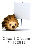Royalty-Free (RF) hedgehog Clipart Illustration #1162818