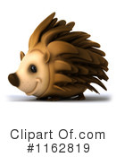 Royalty-Free (RF) hedgehog Clipart Illustration #1162819