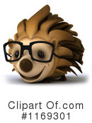 Royalty-Free (RF) hedgehog Clipart Illustration #1169301