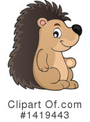 Royalty-Free (RF) Hedgehog Clipart Illustration #1419443
