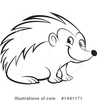 hedgehog clipart 1441171 illustration by lal perera rh illustrationsof com