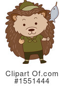 Hedgehog Clipart #1551444 by BNP Design Studio