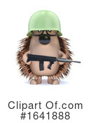 Hedgehog Clipart #1641888 by Steve Young