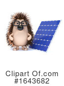 Hedgehog Clipart #1643682 by Steve Young