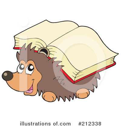 Hedgehog Clipart #212338 by visekart