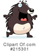 Royalty-Free (RF) Hedgehog Clipart Illustration #215301