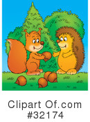 Hedgehog Clipart #32174